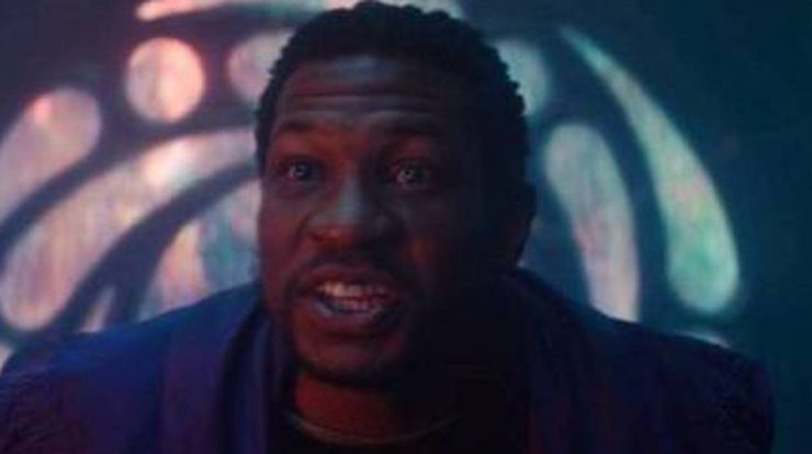 Director Jonathan Majors says he improvised a scene from the last episode