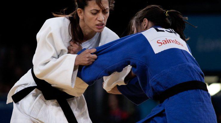 Judoka Lucia Teixeira wins gold at the England Championships
