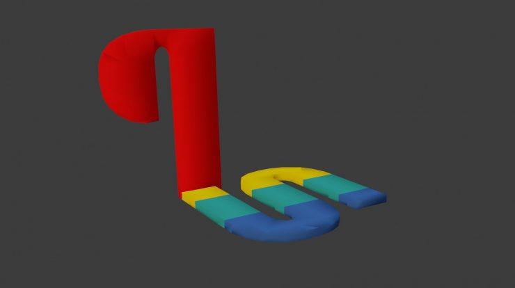 Imagem de: PS1: artistas descobrem que logo do console é um modelo 3D!
