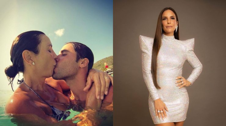 She ignores her husband Ivete Sangalo in a new show