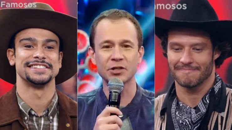 """Who is the famous person who """"turns his face"""" to Thiago Levert for a low score in dance?  · the news"""