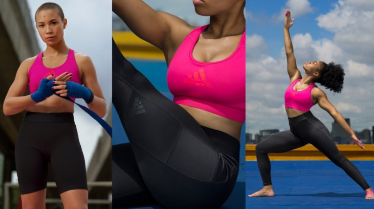 adidas launches a line dedicated to women to continue exercising while they are menstruating
