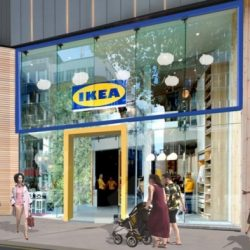 IKEA invests in opening small stores in large centers