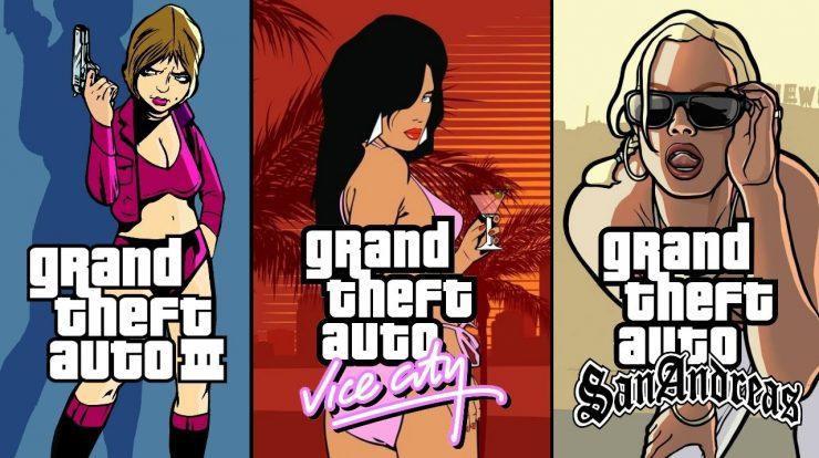 Kotaku: Grand Theft Auto 3, Vice City and real San Andreas Remasters