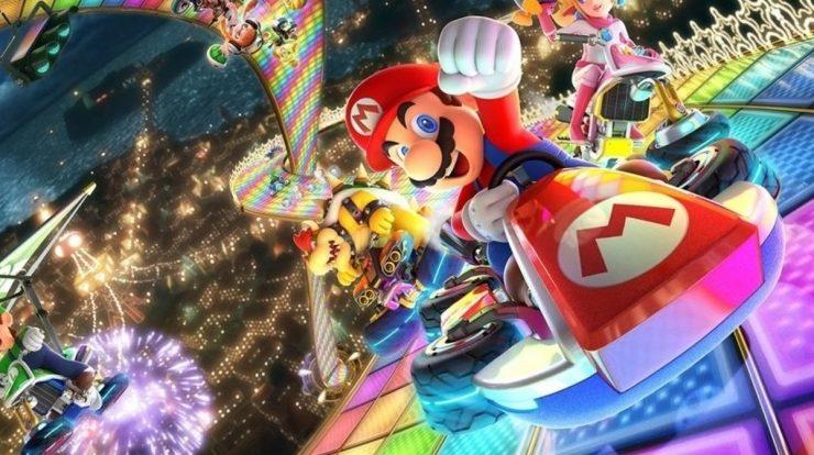 Mario Kart 8 DX leader is not UK, ஜி Eurogamer.pt before GTA5
