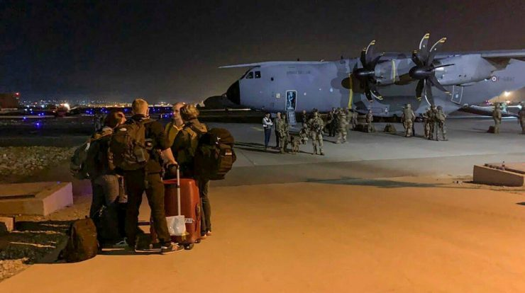 The UK has accused the two countries of abandoning citizens in Afghanistan
