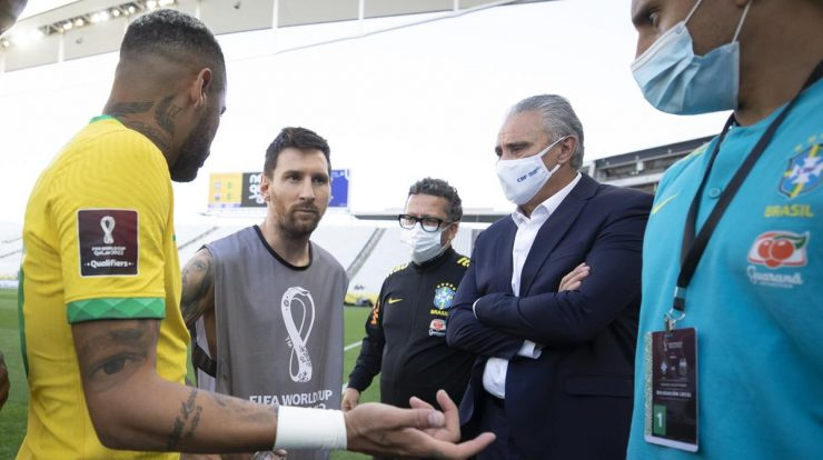 """The Argentines """"dribbled"""" at the Anfisa stadium, and could only find them on the field"""