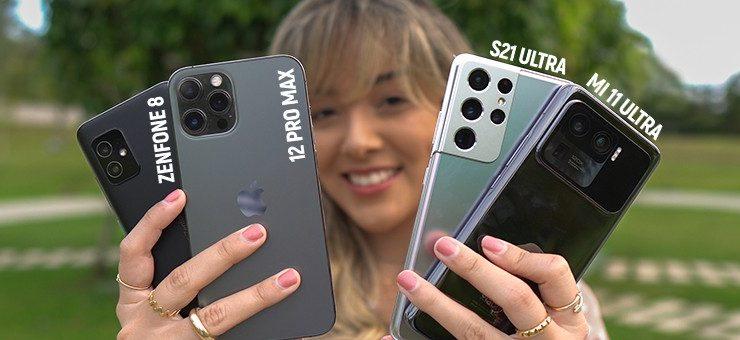Mi 11 Ultra faces S21 Ultra, iPhone 12 Pro Max and Zenfone 8    Camera comparison