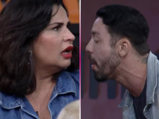 """""""Feio; Velha"""": Primeiro barraco de """"A Fazenda 13"""" é com Rico e Solange"""