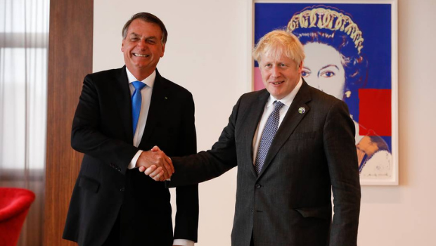 Bolsonaro tells UK Prime Minister he has not been vaccinated against Covid-19
