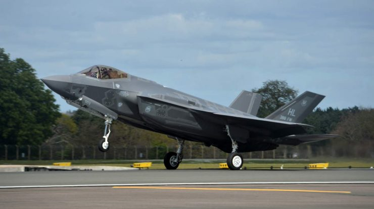 The USAF is to establish two F-35 regiments in the UK - Aeroflop