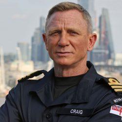 Daniel Craig, astro de James Bond, foi nomeado comandante honorário da Marinha Real do Reino Unido