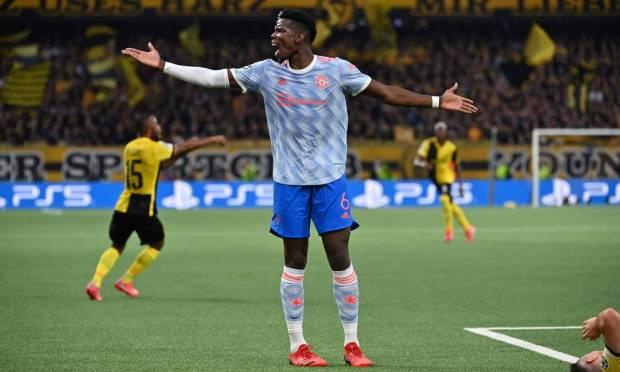 Eighth - Paul Pogba, Manchester United.  $34 million 179.6 million Brazilian reais Photo: FABRICE COFFRINI / AFP