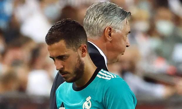 Tenth - Eden Hazard, from Real Madrid.  $29 million - R$153.2 million Photo: JOSE JORDAN / AFP