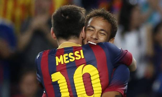 In 2013, at the Camp Nou.  Photo: Albert Jia/Reuters