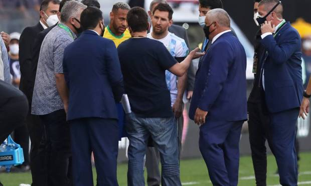 Anfisa said on Sunday that Argentine national team players Emiliano Martinez, Emiliano Buendia, Giovanni Lo Celso and Christian Romero had entered the country irregularly, without notifying them that they were in the United Kingdom.  Photo: Amanda Perubelli/Reuters