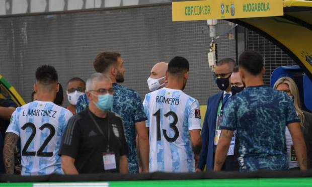 Conmebol will have a quarantine launch agreement between all countries on the continent to allow athletes to compete in official matches, even if it is outside the country's rules. Photo: NELSON ALMEIDA / AFP