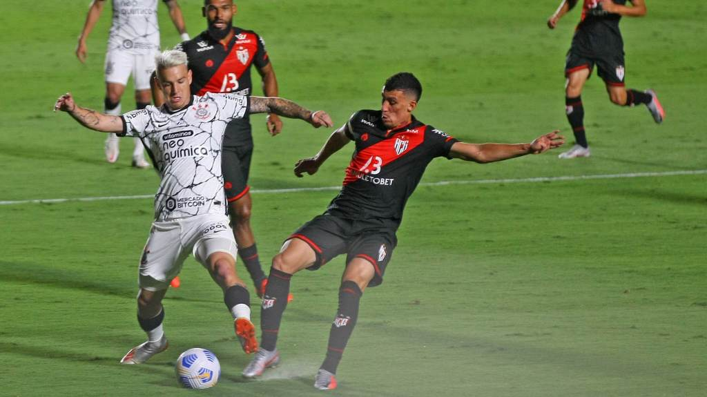 Atlético Go and Corinthians tied 1-1 in Goiania
