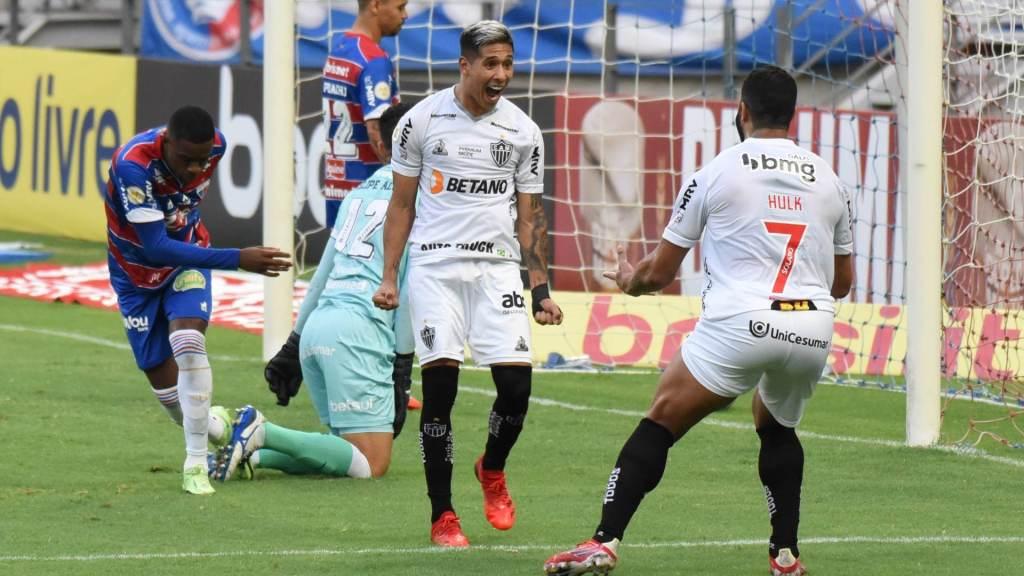 Atletico MG beat Fortaleza away 2-0