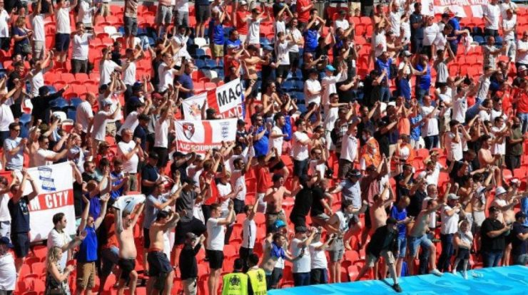 England fans will not need to present a stadium vaccination certificate |  sports