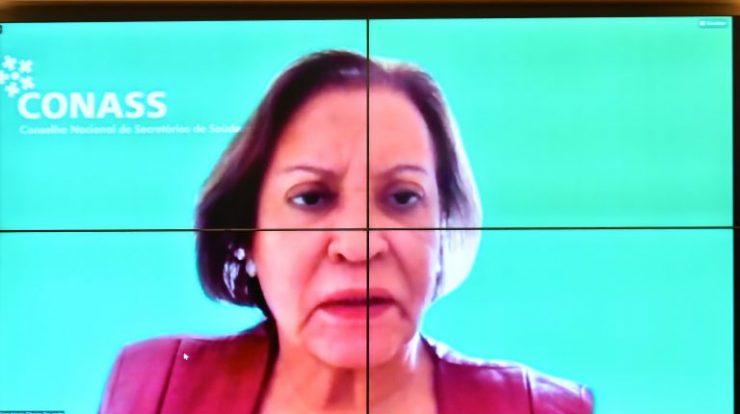 Audiência Pública - A realização das cirurgias eletivas no Brasil. Assessora Técnica do Conselho Nacional dos Secretários de Saúde - CONASS, Eliana Maria Ribeiro Dourado