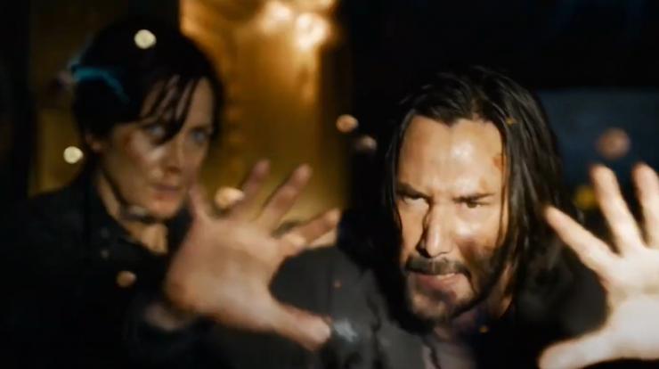 Matrix Trailer 4: What's Next in The Matrix: Resurrections?  Discover it!