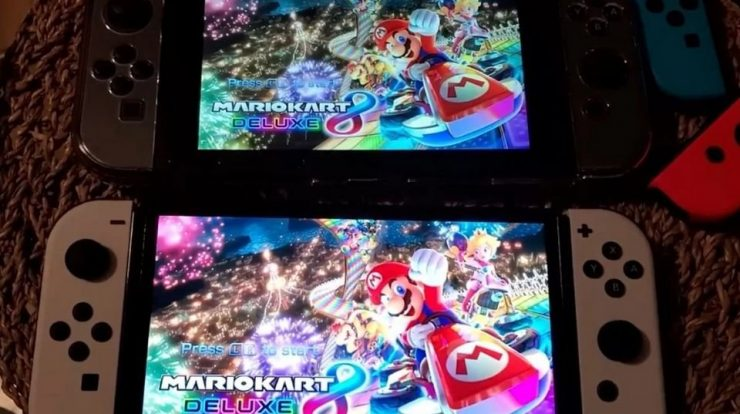 Imagem de: Switch OLED vs. original: assista a um dos primeiros comparativos