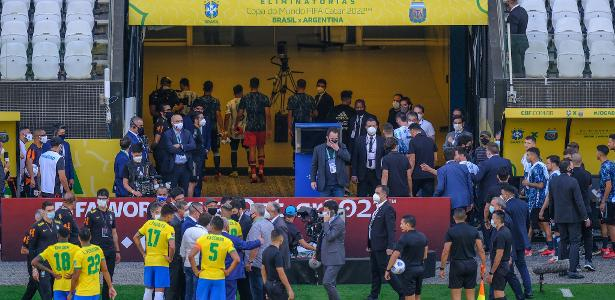 """Questions from the Argentine newspaper that called the match """"Brazilian shame"""" - 09/05/2021"""