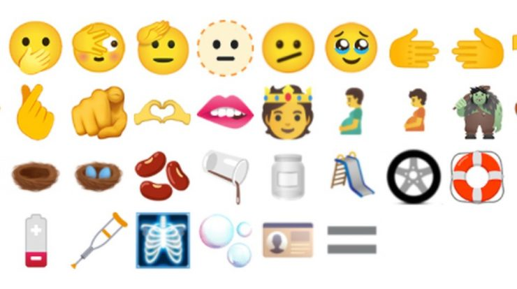 Tearful eyes, two-handed heart, and a 'melting' face: new emojis coming soon |  Technique