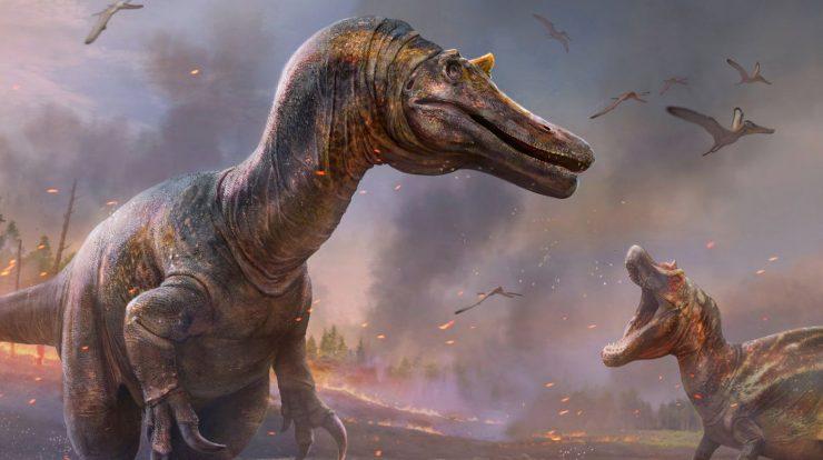 "Carnivorous ""crocodile-headed"" dinosaurs found in England"