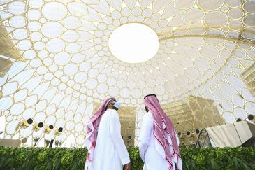 Expo 2020 Dubai opens with pavilions from more than 190 countries.