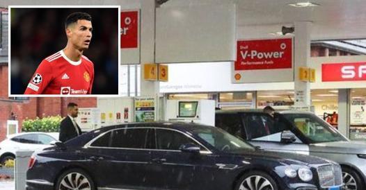 Ronaldo, Bentley gas out of England