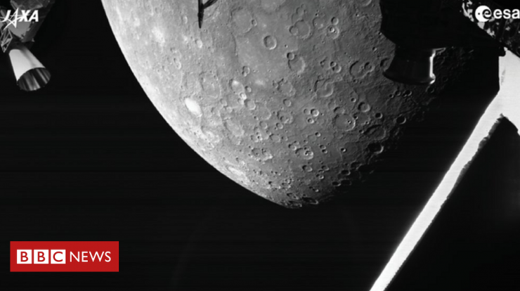BepiColombo: space mission to Mercury releases first images