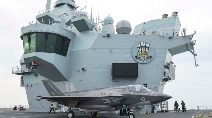 The United Kingdom has announced its second aircraft carrier - Cavok Brasil