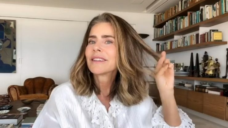 """Maitê Proença and Adriana Calcanhoto: Actress Comments On The Relationship And Says """"When Things Become Clear, It Will Be Talked About""""    pop art"""