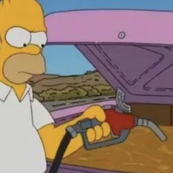 Did the Simpsons predict the fuel shortage?  |  Economie