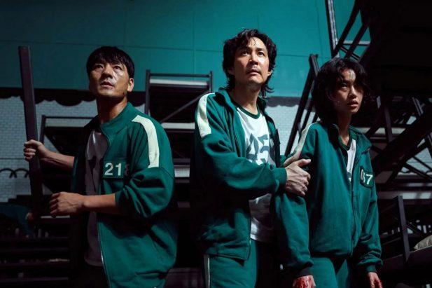 Cho Chang Woo Seong Ji Han and Abdul Ali characters in Squid Camel