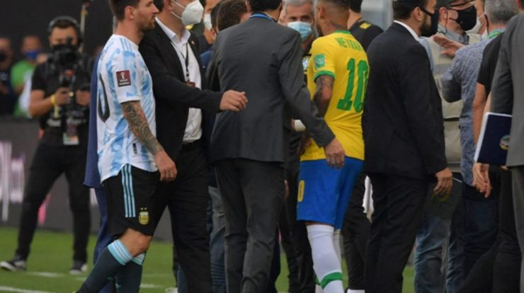FIFA President talks about the scandal of the Brazil-Argentina match |  international