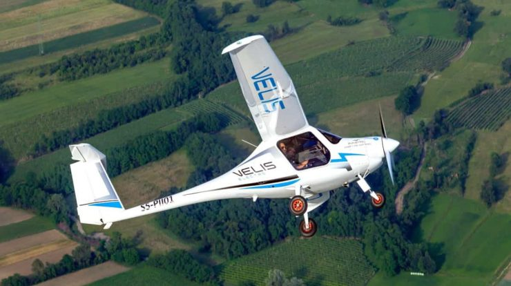 Flight schools in the UK receive 50 electric planes Pipistrel Velis - Cavok Brasil