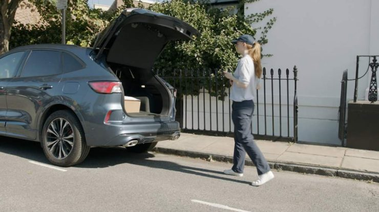 Ford tests vehicle parcel delivery system in UK SEGS